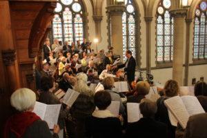 Ein besonderer Höhepunkt: Gestaltung des Festgottesdienstes zum 125. Jubiläum der Kirchweihe in Zittau