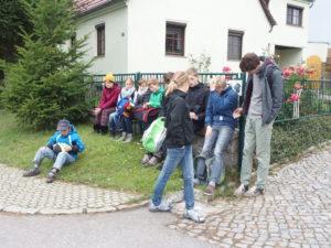 Rast auf der Wanderung - Ministrantenfahrt